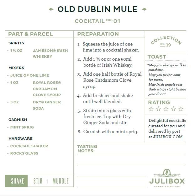 Old Dublin Mule - Julibox